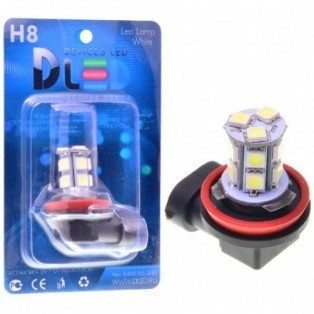 Автомобильная светодиодная лампа Н 8-SMD5050 13Led 3,12Вт 12V