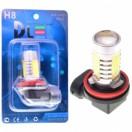 Автомобильная светодиодная лампа Н 8-НР 4Led+линза 6Вт 12V