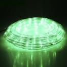 LEDшнур 13мм,круглый,20м,чейзинг,ЗЕЛЕНЫЙ,Led 24,220V,с контроллером