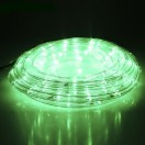 LEDшнур 13мм,круглый,10м,чейзинг,ЗЕЛЕНЫЙ,Led 24,220V,с контроллером