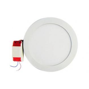 Светильник LED белый круглый 240*240*13 14Вт ТБ