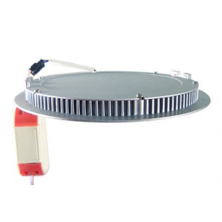 Светильник LED серый круглый 180*180*13 10Вт ТБ