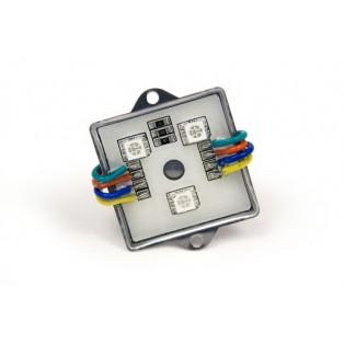 Модуль 3 LED 5050 0,72Вт Мультиколор квадр