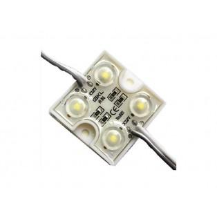 Модуль 3 LED 5050 0,72Вт Теплый белый квадр