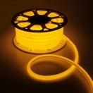 Гибкий неон круглый D 16мм, LED-120-SMD2835 220V ЖЕЛТЫЙ