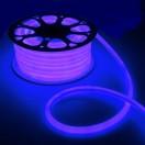 Гибкий неон круглый D 16мм, LED-120-SMD2835 220V СИНИЙ