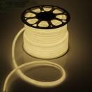 Гибкий неон круглый D 16мм, LED-120-SMD2835 220V ТЕПЛЫЙ БЕЛЫЙ