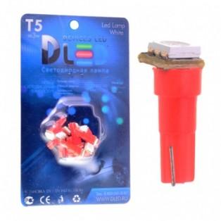Автомобильная светодиодная лампа Т5-SMD5050 1Led 0,24Вт 12V синий