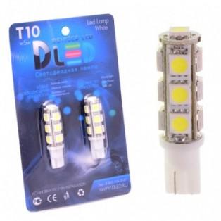 Автомобильная светодиодная лампа Т10-W5W-SMD5050 13Led 3,12Вт 12V